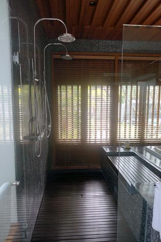 サマヤのシャワールーム