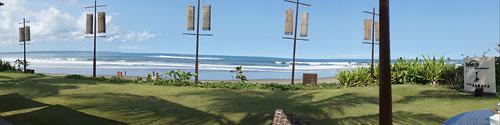 サマヤのレストランからの眺望