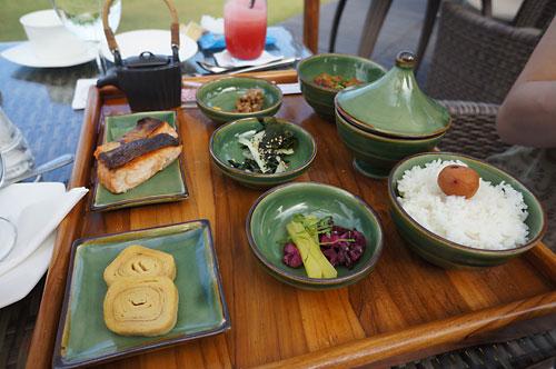 サマヤの朝食 日本食