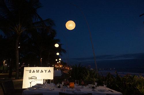 サマヤのレストランBreeze